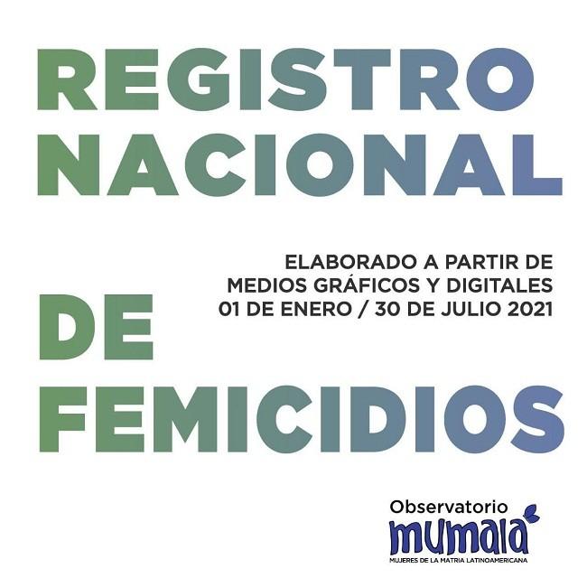DATOS DEL OBSERVATORIO MUMALA : En siete meses se cometieron 128 femicidios en Argentina