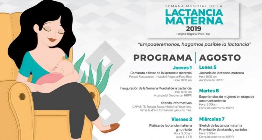 SEMANA DE LA LACTANCIA MATERNA. DEL 1 AL 7 DE AGOSTO