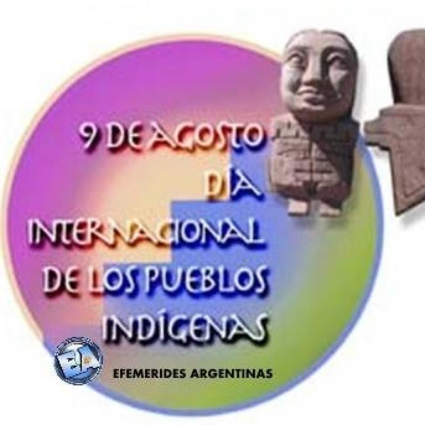 9 DE AGOSTO DIA INTERNACIONAL DE LOS PUEBLOS INDIGENAS.
