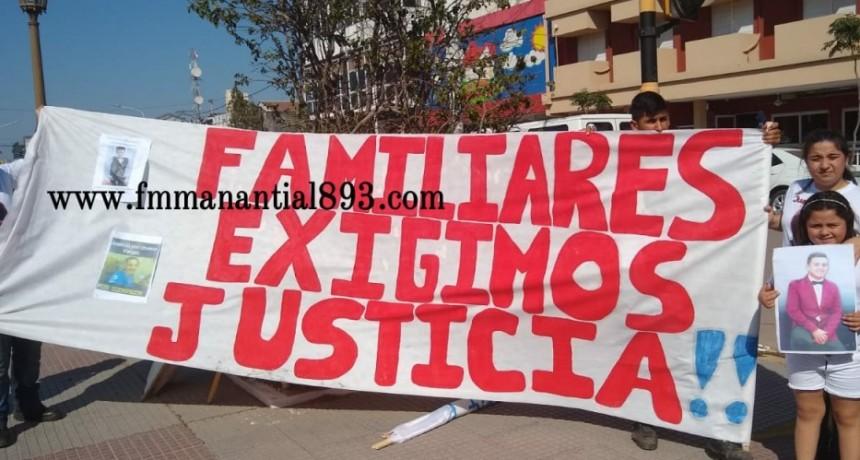 ''SOLO QUEREMOS JUSTICIA PARA NUESTROS HIJOS''