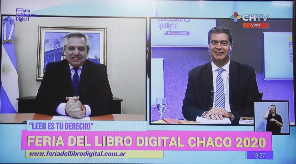 """FERIA DEL LIBRO DIGITAL: CON EL CONVERSATORIO DE ALBERTO FERNÁNDEZ Y CAPITANICH, COMENZÓ EL CICLO """"IDEAS Y LIBROS PARA PENSAR LA POSPANDEMIA"""""""