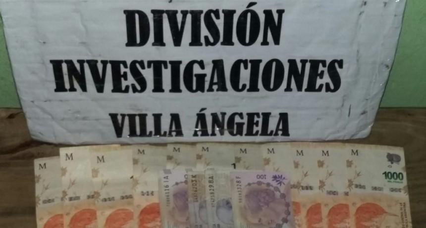 Villa Ángela:  UNA JOVEN DE 15 AÑOS ENGAÑÓ A UNA MUJER PARA ROBARLE SU PENSIÓN POR DISCAPACIDAD, LA JOVEN FUE DETENIDA.