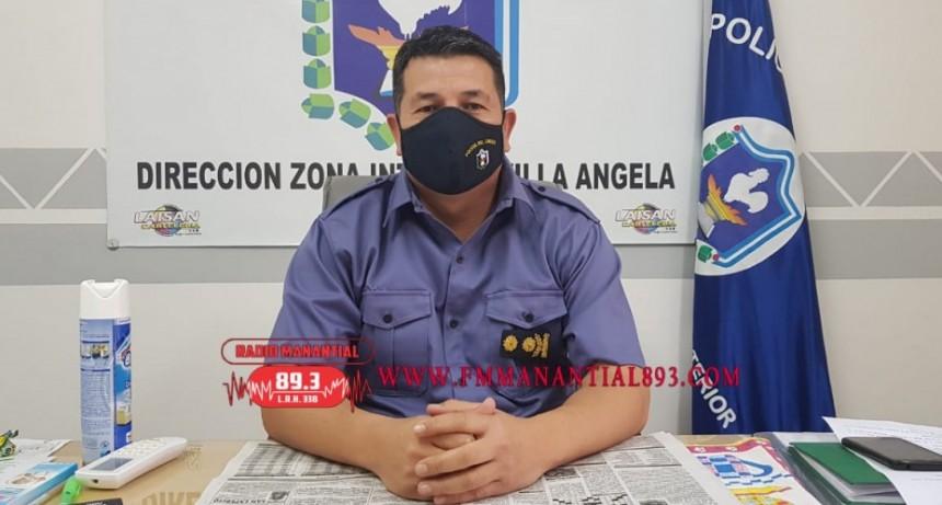 """Villa Ángela: COMISARIO MAYOR GUSTAVO DOMÍNGUEZ: ESTE FIN DE SEMANA """"estamos previendo operativos sobre todo de motos, se va a proceder al secuestro de motocicletas que no tengan la correspondiente documentación"""""""