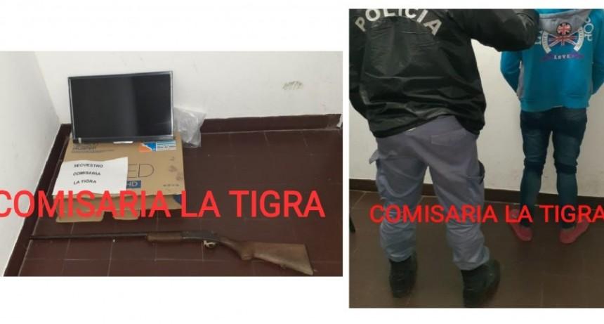 La Tigra: DETIENEN A