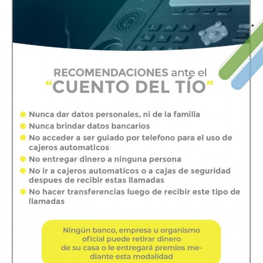LA POLICÍA DEL CHACO ADVIERTE Y BRINDA RECOMENDACIONES ANTE LAS CRECIENTES ESTAFAS EN MODALIDAD