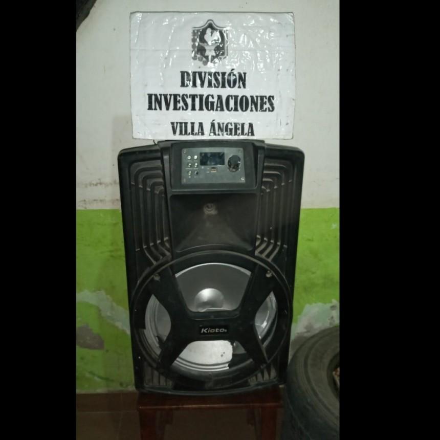 Villa Ángela:  EL PERSONAL POLICIAL RECUPERÓ ELEMENTO SUSTRAÍDO POR SU EX PAREJA A UNA MUJER