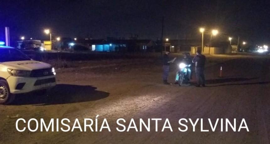 Santa Sylvina: 19 ACTAS DE INFRACCIÓN Y 12 MOTOS SECUESTRADAS ES EL RESULTADO DEL OPERATIVO DE SEGURIDAD