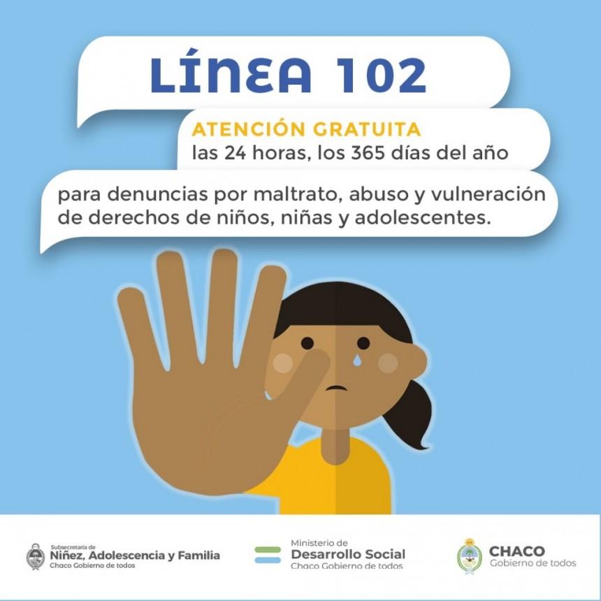 Chaco: DESARROLLO SOCIAL CON PLENO FUNCIONAMIENTO DEL DISPOSITIVO DE EMERGENCIA LÍNEA 102