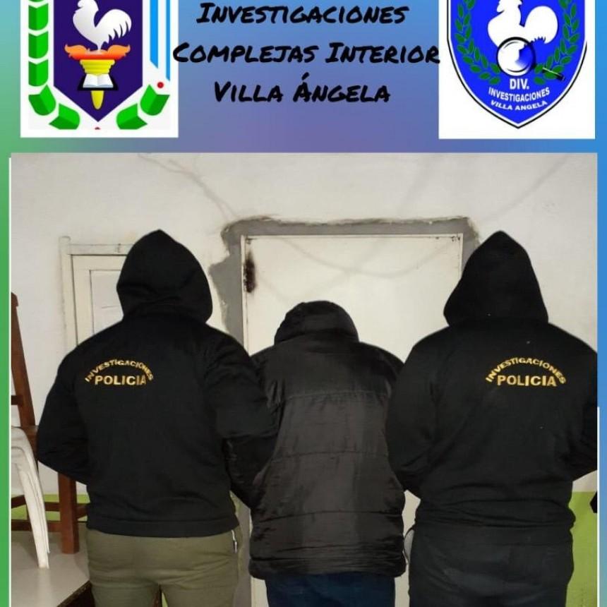 Villa Ángela: DETIENEN A UN MASCULINO POR AMENAZAS EN EL MARCO DE VIOLENCIA DE GÉNERO