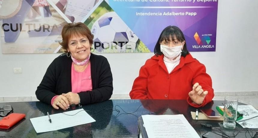 Villa Ángela: EL MUNICIPIO INVITA A DISFRUTAR DE LAS ACTIVIDADES CULTURALES VIRTUALES