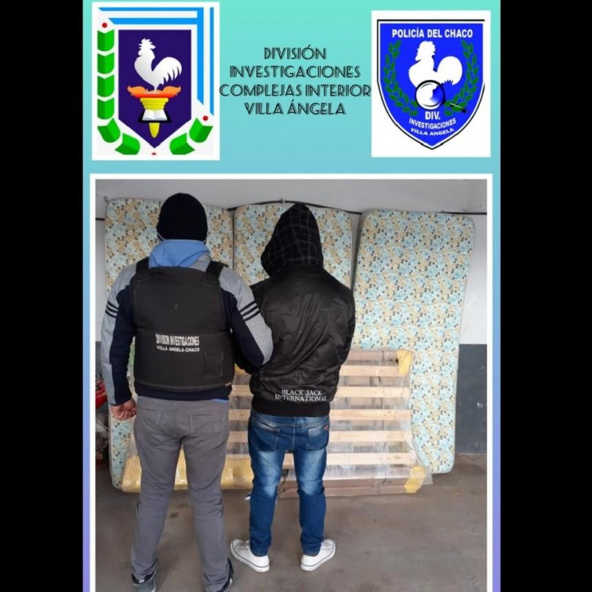 Villa Ángela: DETUVIERON AL AUTOR Y RECUPERARON ELEMENTOS ROBADOS DEL