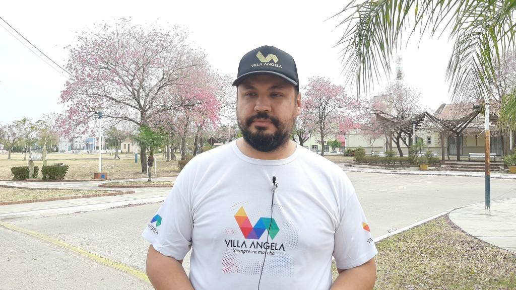 Villa Ángela: LA MUNICIPALIDAD CONTINÚA CON LAS TAREAS DE MANTENIMIENTO EN LA CIUDAD