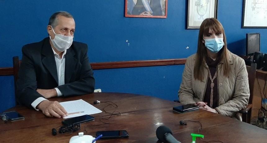 Villa Ángela: EL INTENDENTE ADALBERTO PAPP SE REUNIÓ CON LA MINISTRA DE SALUD DE CHACO