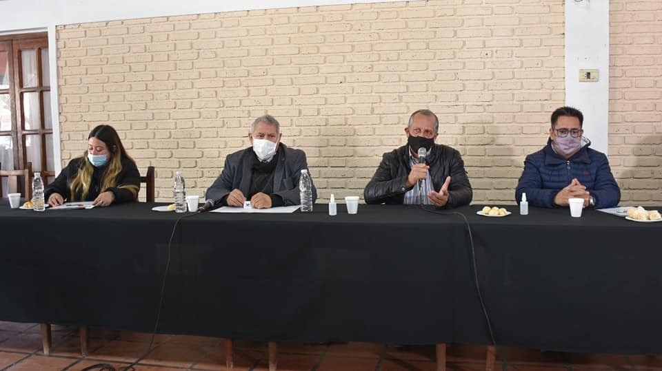 PAPP SE REUNIÓ CON EL INTENDENTE DE RESISTENCIA PARA DEBATIR IDEAS CON EL FIN DE ORGANIZAR LAS GESTIONES DE AMBOS MUNICIPIOS