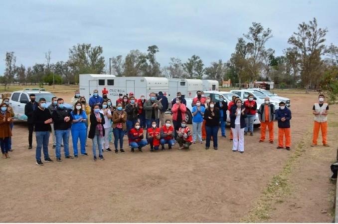 Nación interviene en un megaoperativo sanitario en 17 localidades chaqueñas