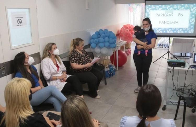 Salud Pública Conmemoró el Día de la Partería y Obstetricia