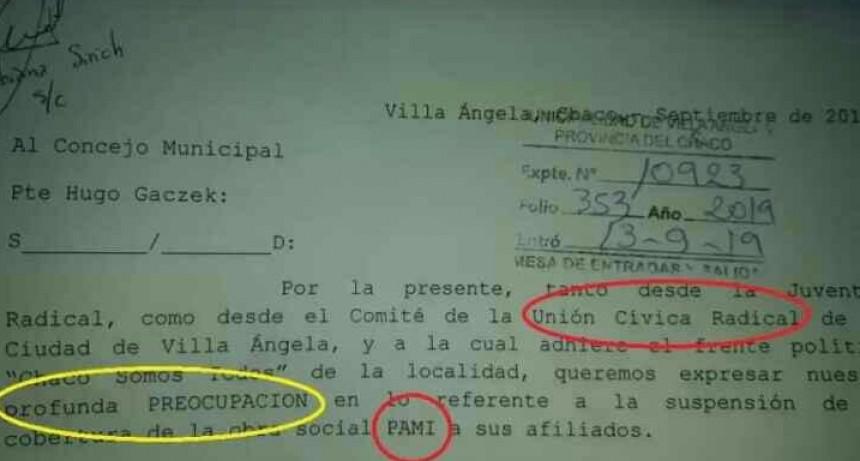 Villa Ángela: La UCR pide que se declare la Emergencia Sanitaria