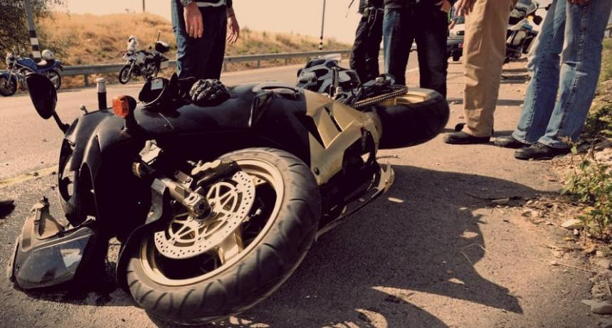 ACCIDENTE FATAL EN LA TIGRA: TRAS EL CHOQUE DE UNA MOTO Y UN AUTO RESULTÓ EL DECESO DE UNA PERSONA DE 40 AÑOS.