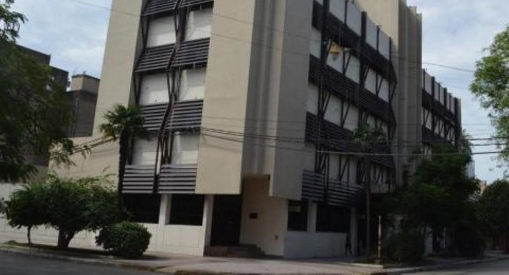 El STJ desinfectó tres sedes en Villa Ángela, tras la suba de casos