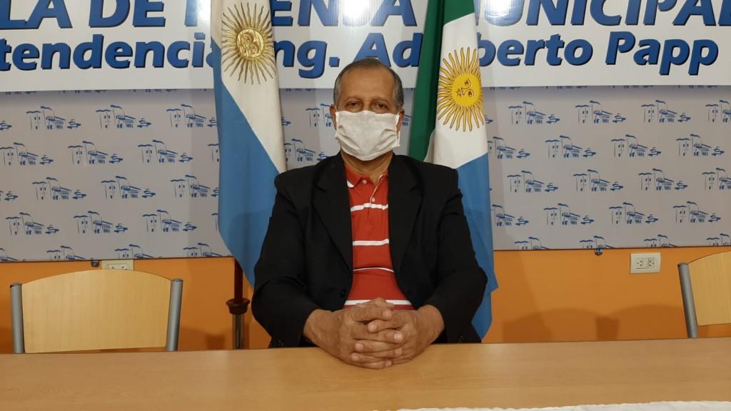Villa Ángela: EL INTENDENTE PAPP EXPLICÓ LA SITUACION ACTUAL DE LA CIUDAD