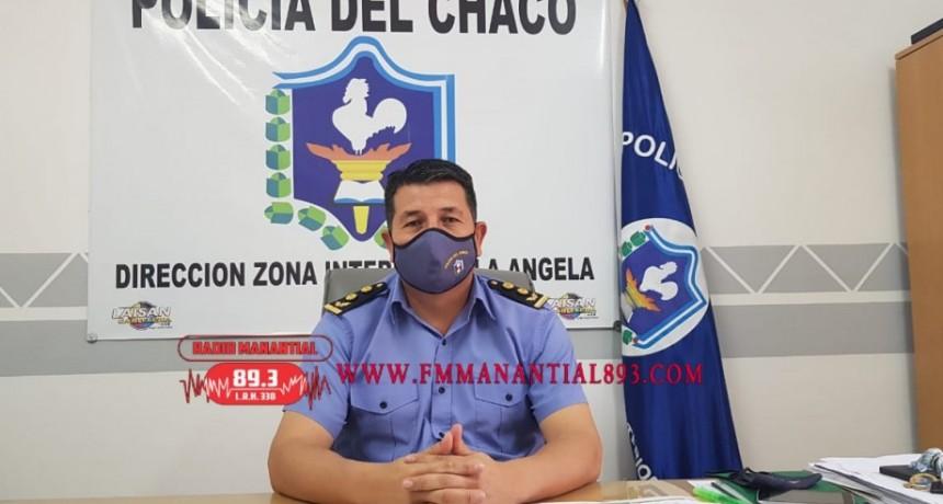 Villa Ángela: COMISARIO MAYOR DOMINGUEZ JEFE DE D.Z.I.V.A. |