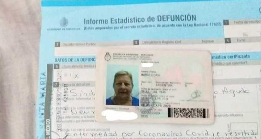 Mendoza: Coronavirus: dieron por muerta a una mujer que estaba viva
