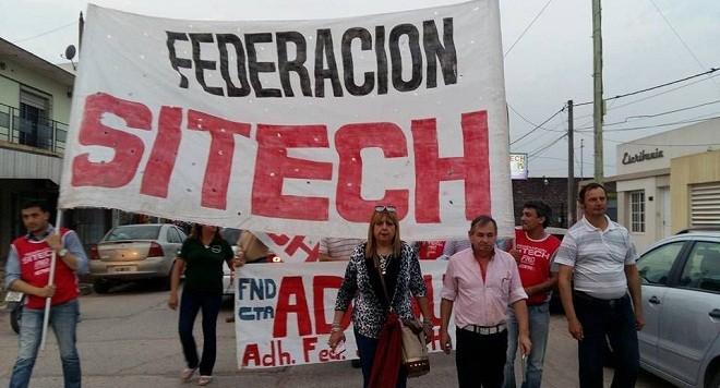 Federación Sitech convoca a los docentes a parar y movilizarse el próximo jueves 9