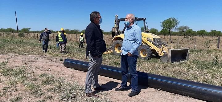 Acueducto Villa Berthet- San Bernardo: Se dio al Último Tramo de la Obra