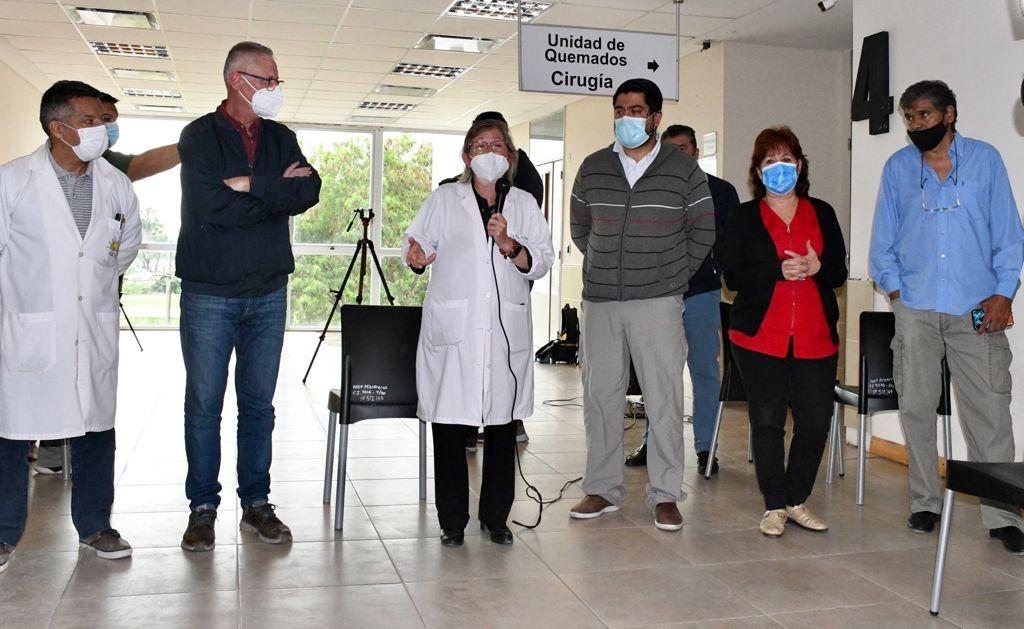 CHACO: SALUD PÚBLICA PUSO EN FUNCIONES AL NUEVO DIRECTORIO DEL HOSPITAL PEDIÁTRICO AVELINO CASTELÁN