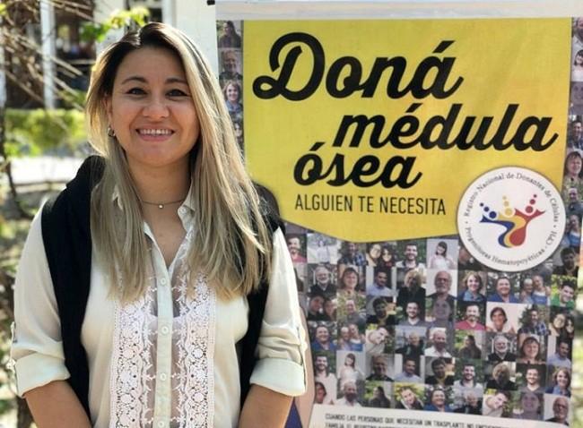 El Chaco tiene una nueva y primer mujer donante de médula ósea