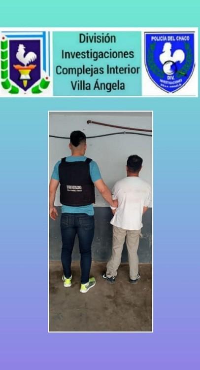 Villa Ángela: Detuvieron  a un Sujeto que era buscado por el Arrebato de un Celular