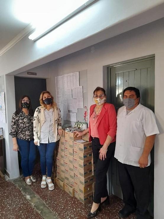 Villa Berthet: El Municipio concretó la Entrega de Refrigerio a las Instituciones Educativas para el Festejo Día del Estudiante