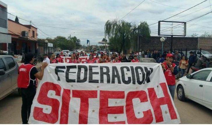 Sitech Federación convoca a un paro para el próximo miércoles