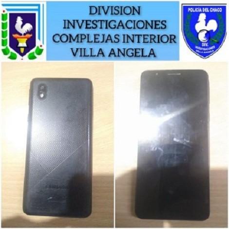 Villa Ángela: División Investigaciones Complejas Recuperaron un Celular en Cuestión de Minutos