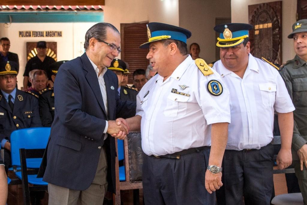 El intendente Cipolini participó del acto por el 198º aniversario de la Policía Federal Argentina