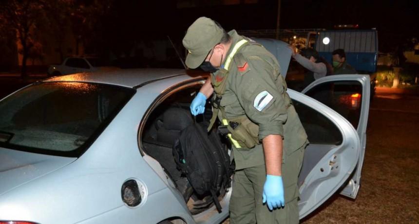 Narcotráfico: decomisan más de 28 kilos de cocaína trasladada en un automóvil