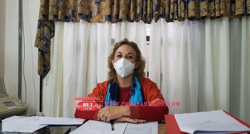"""Villa Ángela: Dra. Miriam Tourn Jefa de Zona Sanitaria I   """"debo LIMITARME  EXCLUSIVAMENTE a mi función administrativa como jefa De la  Región"""""""
