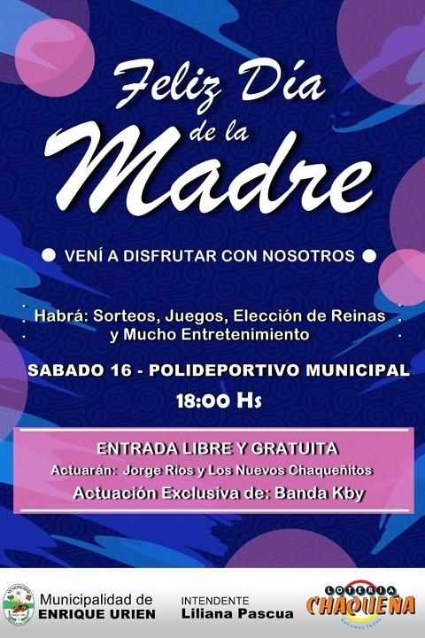 Enrique Urien:  Invita al Festejo
