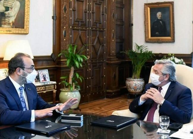 El presidente Alberto Fernández acordó con la CAF financiamiento por u$s2.670 millones