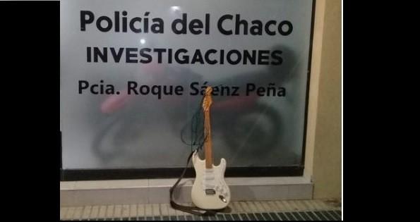 Sáenz Peña: RECUPERARON UNA GUITARRA VALUADA EN $30.000
