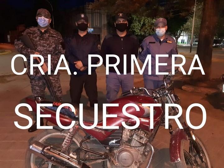 Villa Ángela: Robó una moto en el baile y fue atrapado