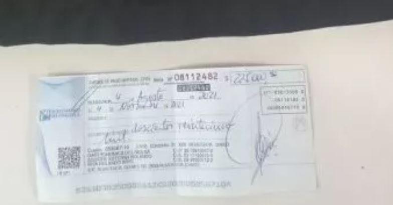 Barranqueras: Un hombre intentaba vender un cheque robado por 225 mil pesos