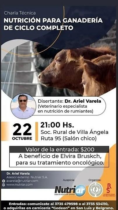 Villa Ángela: El Ateneo Juvenil Invita a la Charla Técnica