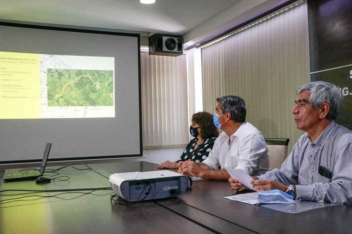 Capitanich anunció la pavimentación de rutas provinciales claves para la integración de localidades