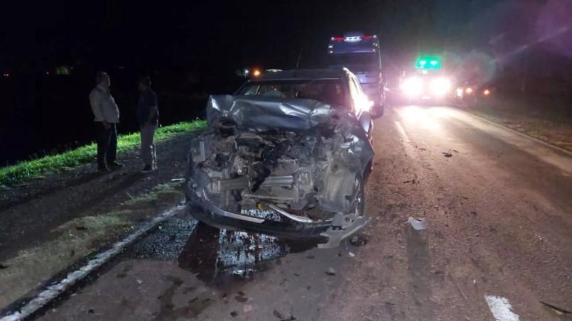 Sáenz Peña: Fuerte accidente por la ruta 16 dejó a tres personas lesionadas