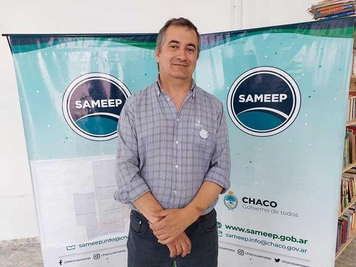 Charata: SAMEEP COMENZÓ LA COLOCACIÓN DE LOS PRIMEROS 80 MEDIDORES EN DOMICILIOS