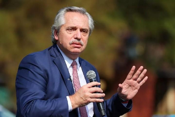 ALBERTO FERNÁNDEZ SE REUNIRÁ CON EL TITULAR DEL FMI EN ROMA
