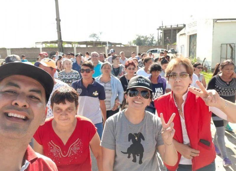 Patricia Lezcano consagró un nuevo triunfo y apoyo de Samuhú