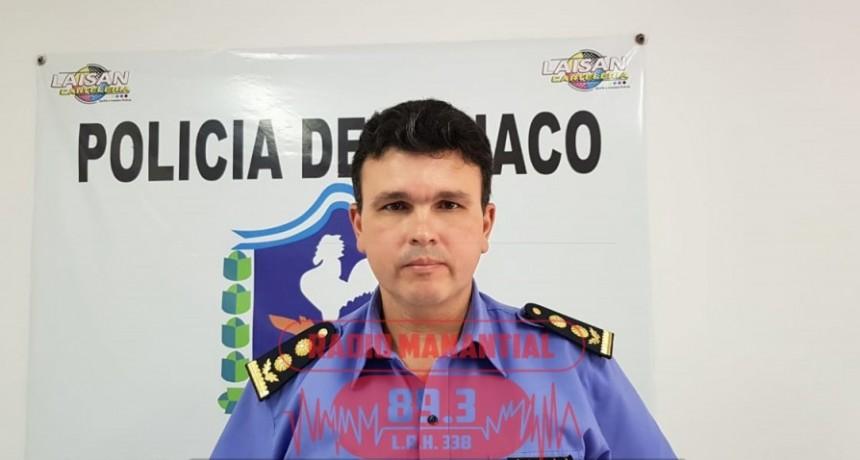 ASUMIÓ EL NUEVO JEFE DE LA DIRECCIÓN DE ZONA INTERIOR VILLA ÁNGELA