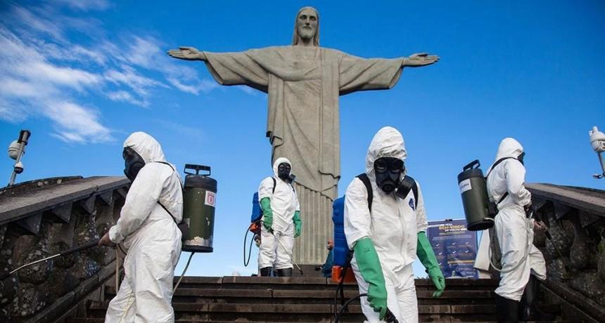Hay alarma en Brasil por el descubrimiento de una nueva cepa de coronavirus